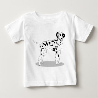 Dalmation Dog Baby T-Shirt