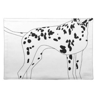 Dalmation Dog Placemat