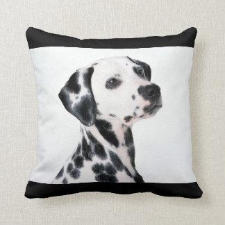 Dalmation Dog Throw Pillow