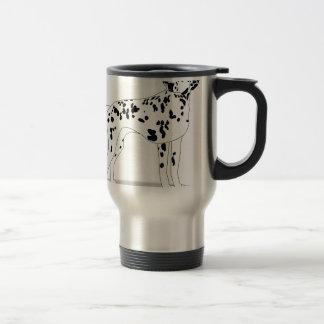 Dalmation Dog Travel Mug