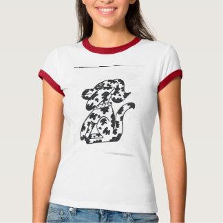 Dalmation ladies t-shirt