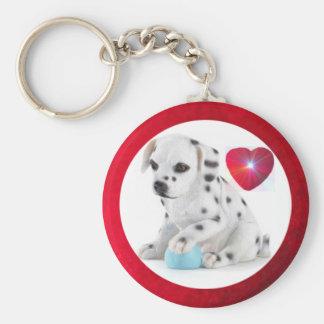 Dalmation Toy Keychain