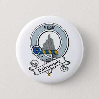 Dalrymple Clan Badge 2 Inch Round Button