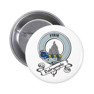 Dalrymple Clan Badge 2 Inch Round Button