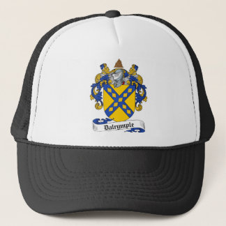 DALRYMPLE FAMILY CREST -  DALRYMPLE COAT OF ARMS TRUCKER HAT