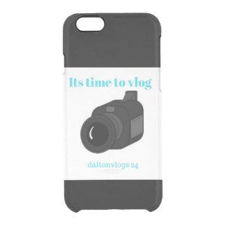 daltonvlogs clear iPhone 6/6S case
