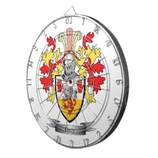 Daly Coat of Arms Dartboards