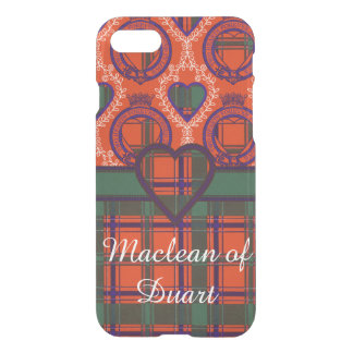 Dalzell clan Plaid Scottish tartan iPhone 7 Case