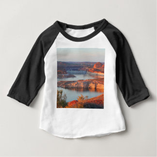 Dam and Bridge at sunrise Baby T-Shirt