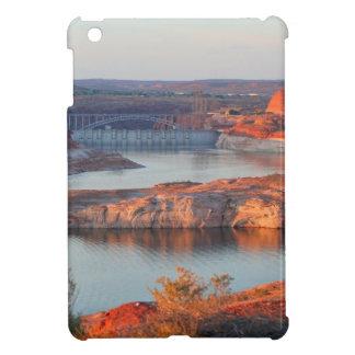 Dam and Bridge at sunrise iPad Mini Cover