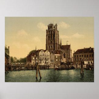 Dam and Maashaven Dordrecht Poster
