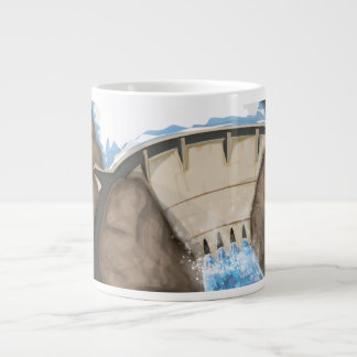 Dam Large Coffee Mug