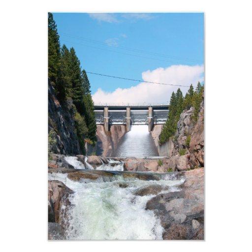 Dam Water Release Art Photo