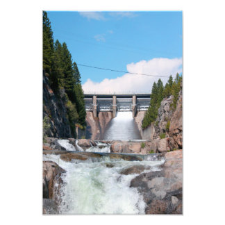 Dam Water Release Photographic Print