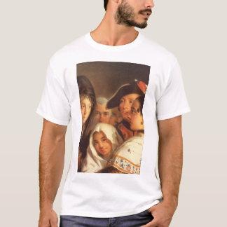 Dama con Mantilla y Moza con_Groups and Figures T-Shirt