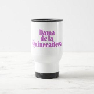 Dama de las Quinceanera 15 Oz Stainless Steel Travel Mug