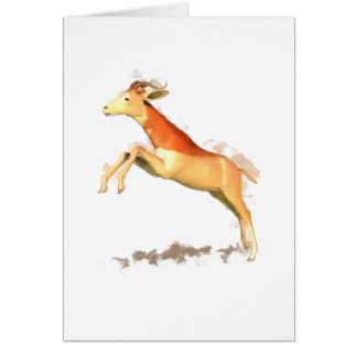 Dama Gazelle Greeting Card