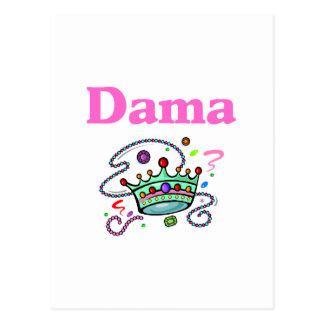 Dama Postcard