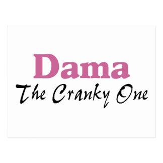 Dama The Cranky One Postcards