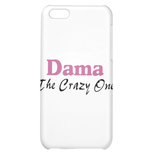 Dama The Crazy One iPhone 5C Cover