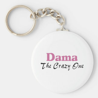 Dama The Crazy One Keychain