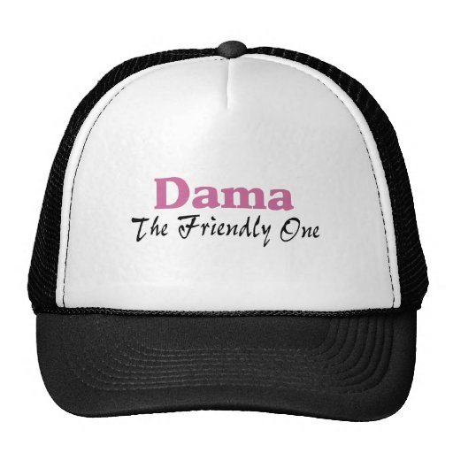 Dama The Friendly One Mesh Hats
