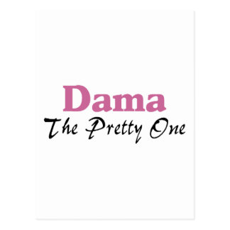Dama The Pretty One Postcard