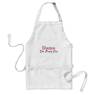 Dama The Pretty One Standard Apron