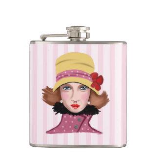 dama vintage flasks