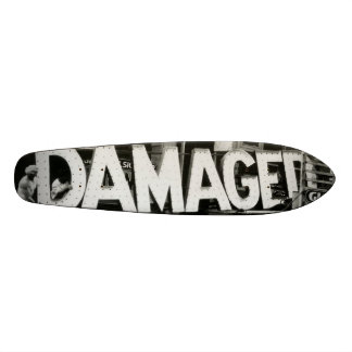 Damaged Vintage Photo Skateboard Deck
