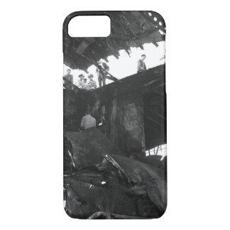 Damanged USS Randolph resulting_War Image iPhone 7 Case
