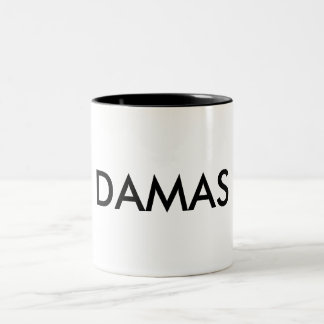 DAMAS URCEUS Two-Tone COFFEE MUG