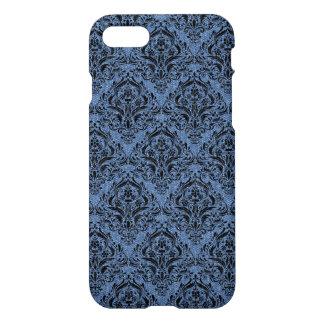 DAMASK1 BLACK MARBLE & BLUE DENIM (R) iPhone 8/7 CASE