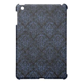 DAMASK1 BLACK MARBLE & BLUE STONE CASE FOR THE iPad MINI