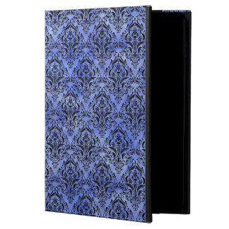 DAMASK1 BLACK MARBLE & BLUE WATERCOLOR (R) POWIS iPad AIR 2 CASE