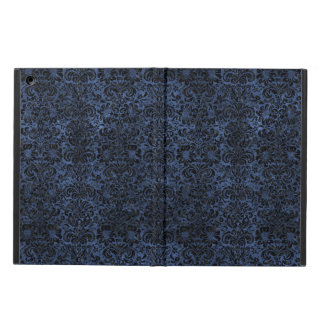 DAMASK2 BLACK MARBLE & BLUE STONE (R) CASE FOR iPad AIR