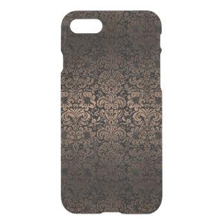 DAMASK2 BLACK MARBLE & BRONZE METAL iPhone 8/7 CASE