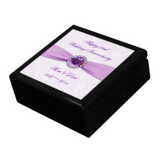 Damask 33rd Wedding Anniversary Gift Box