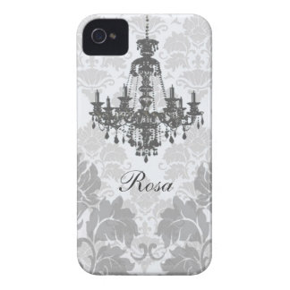 Damask Chandelier iPhone 4 Case-Mate Cases