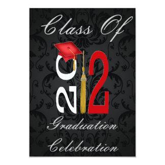 Damask: Class of 2012 Graduation Invitations