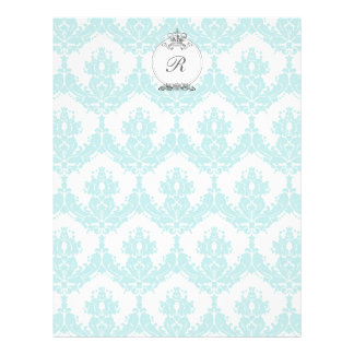 Damask Crown Letterhead <Mint>