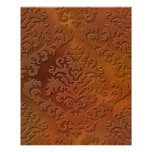 Damask Cut Velvet, SATIN ABSTRACT Poster