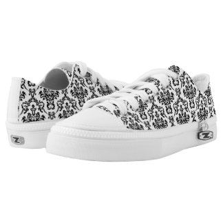 Damask decor Low-Top sneakers