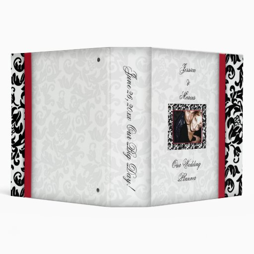 Damask Delight Binder