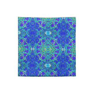 Damask design napkin