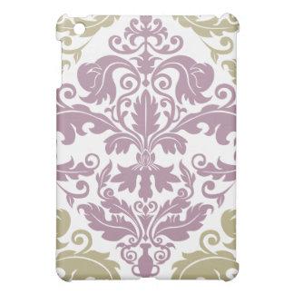 Damask Duo  iPad Mini Case - Purple & Sage