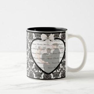 Damask Elegance Wedding Mug