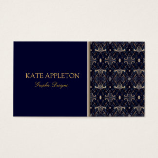Damask Elegant Business Card