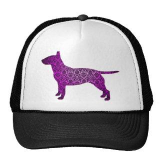 Damask Fancy Bull Terrier Hats