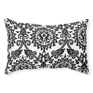 Damask Hare Pattern Outdoor Dog Bed
